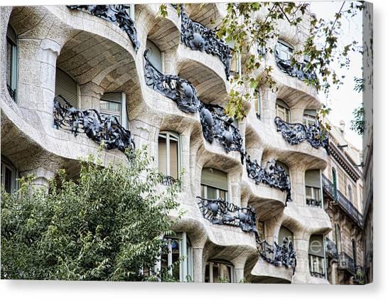 La Pedrera Casa Mila Gaudi  Canvas Print