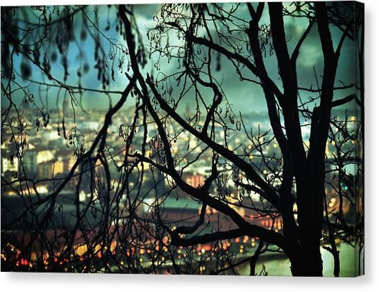 City Landscape Canvas Print - La Perte by Zapista
