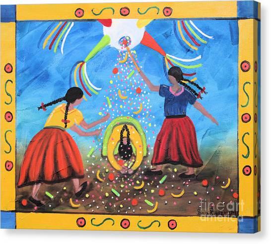 La Pinata Canvas Print