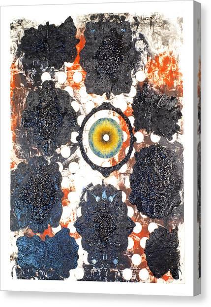 La Pleureuse  Canvas Print by Howard Goldberg