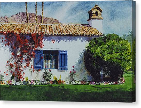 La Quinta Casita Canvas Print