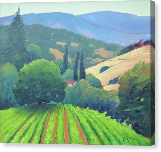 La Rusticana Afternoon. Canvas Print