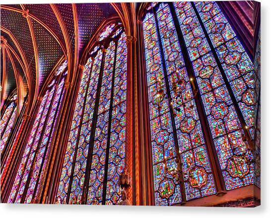 La Sainte-chapelle Canvas Print