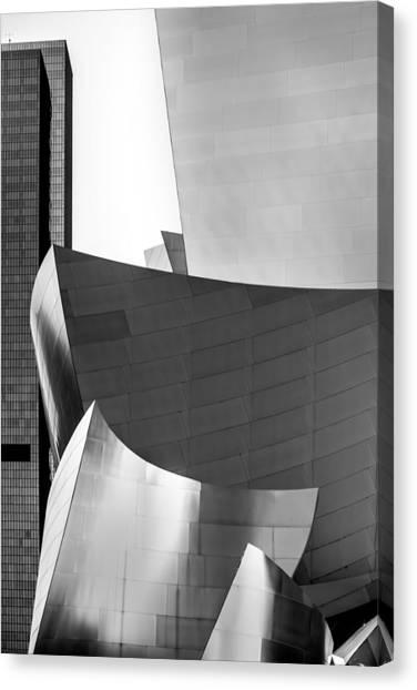 American Steel Canvas Print - La Shapes by Az Jackson