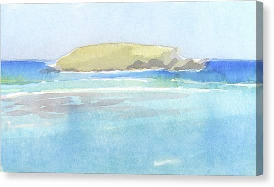 La Tortue, St Barthelemy, 1996_0046 60x35 Cm Canvas Print
