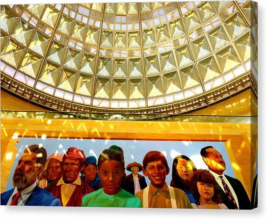 La Union Station Mural Canvas Print
