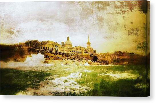 La Valletta Canvas Print