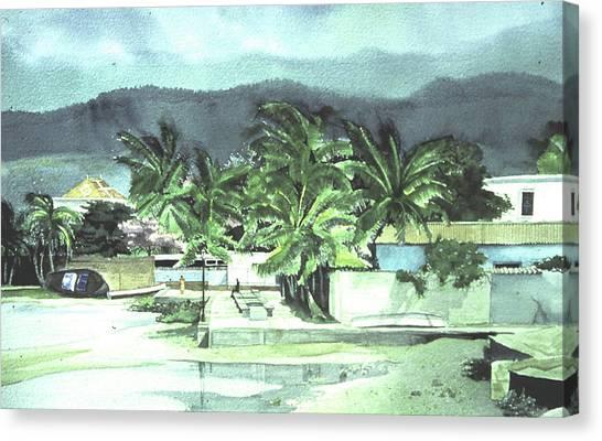 La Vela Canvas Print