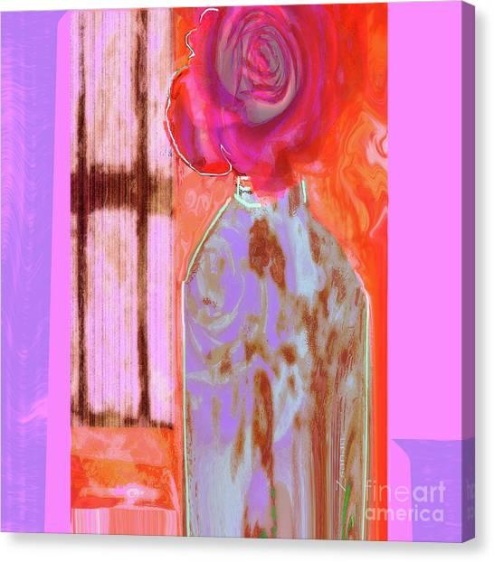 La Vie En Rose  1 Canvas Print