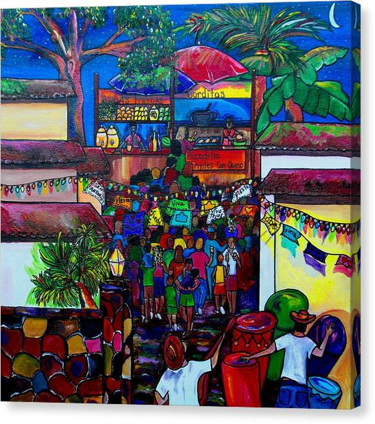La Villita Canvas Print by Patti Schermerhorn