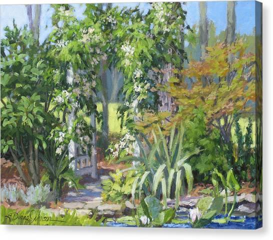 Labor Of Love Canvas Print by L Diane Johnson
