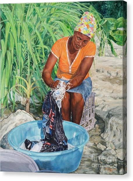 Labour Of Love Canvas Print