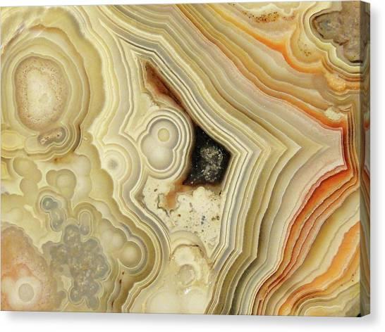 Lace Agate  Canvas Print