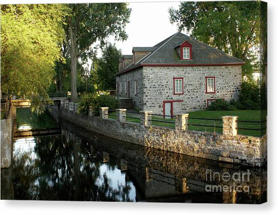 Lachine Canal Montreal Quebec Canvas Print
