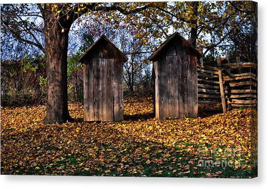 Ladies And Gents Canvas Print