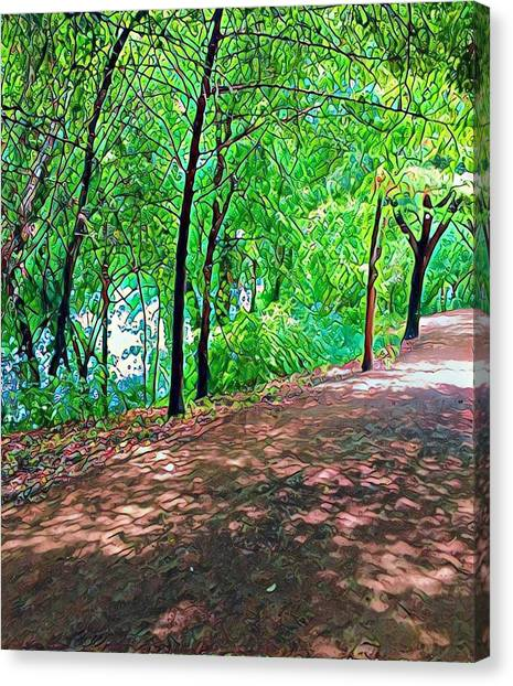 Lady Bird Trail Canvas Print
