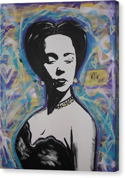 Lady Dandridge Canvas Print