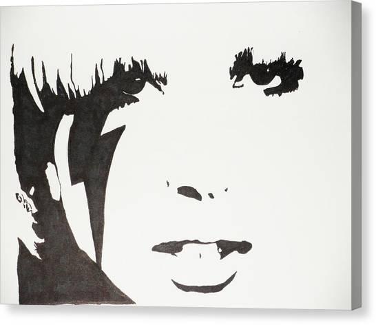 Lady Gaga 2 Canvas Print by Kenneth Regan