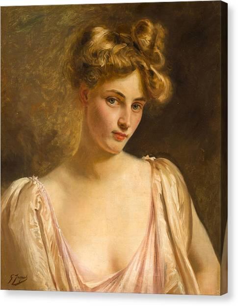Gustave Jean Jacquet Canvas Prints | Fine Art America