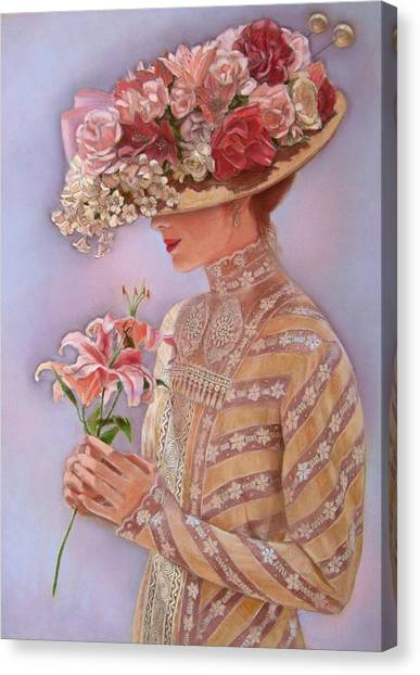 Lady Canvas Print - Lady Jessica by Sue Halstenberg
