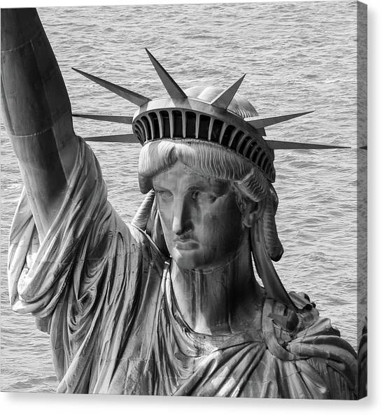 Lady Liberty 1 Canvas Print