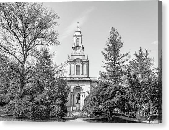 Graduate Degree Canvas Print - Lafayette College Colton Chapel Horizontal by University Icons