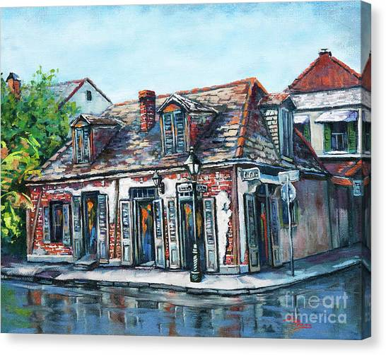 Lafitte's Blacksmith Shop Canvas Print