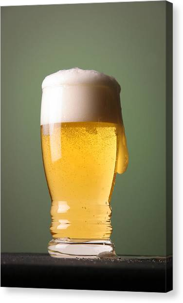 Lager Beer Canvas Print
