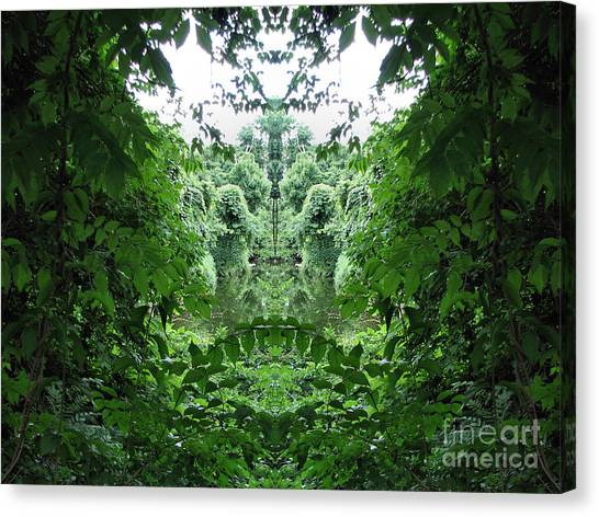 Lagoon Creatures Canvas Print