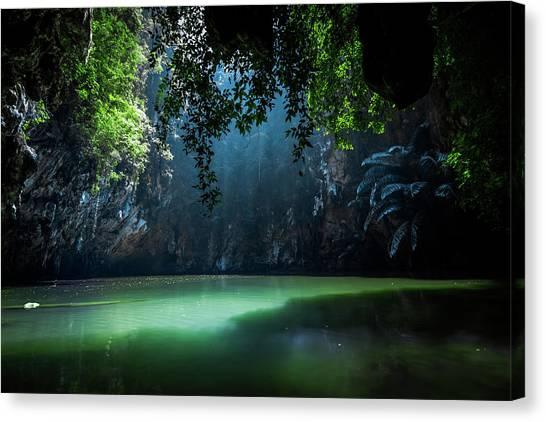 Jungles Canvas Print - Lagoon by Nicklas Gustafsson