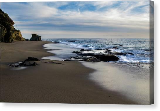 Laguna Beach Canvas Print by Tammy Gann