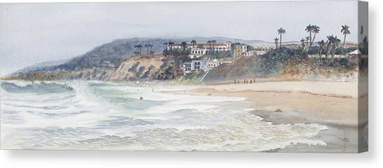 Salt Creek Beach Canvas Print by Tom Dorsz