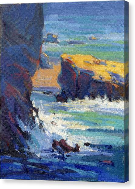 Laguna Rocks Canvas Print