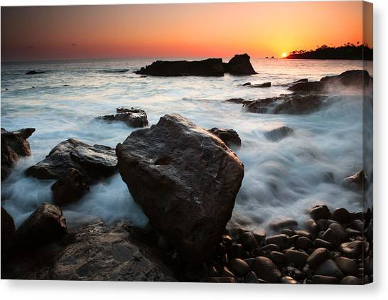 Laguna Sunset Canvas Print