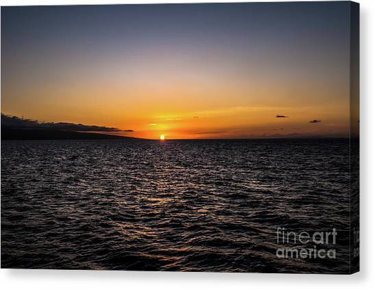 Lahaina Sunset Canvas Print