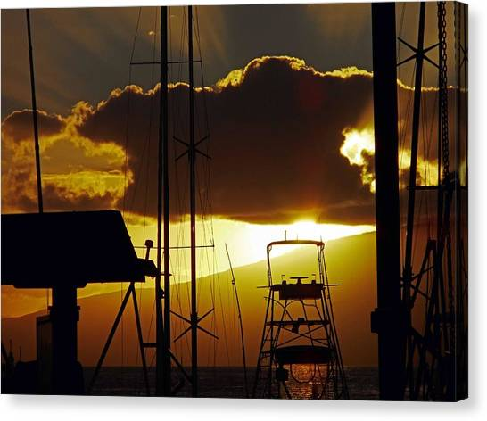 Lahaina Sunsets 5 Canvas Print