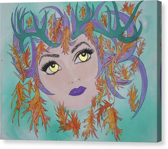Laidy Gaga Number Two Canvas Print