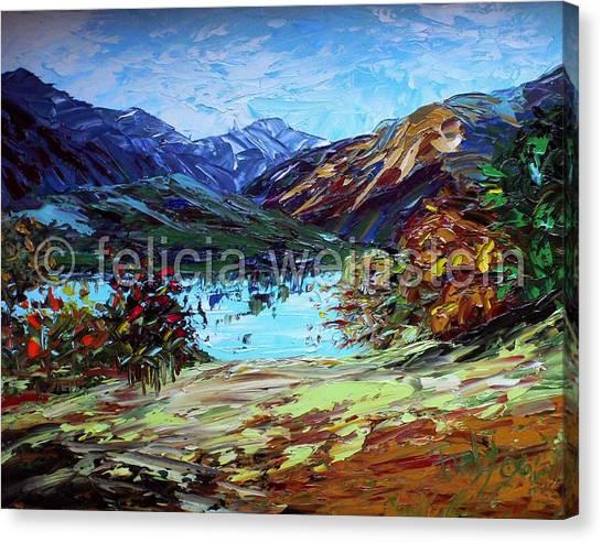 Lake 2 Canvas Print