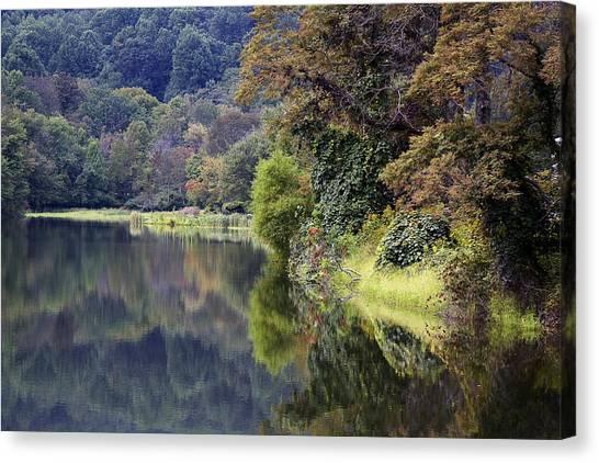 Lake Abbott Reflections Canvas Print