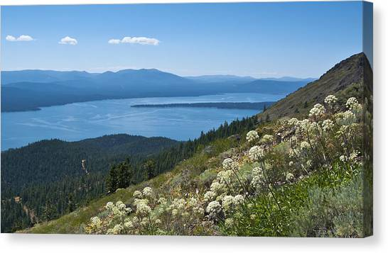 Lake Almanor Canvas Print