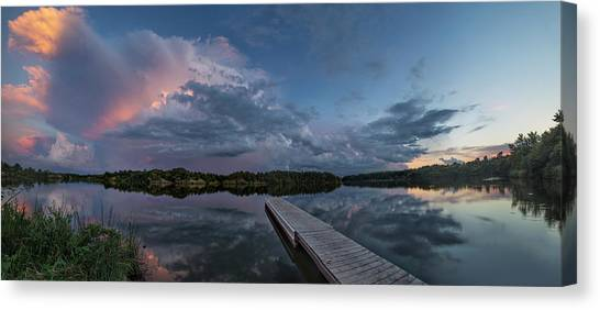Lake Alvin Supercell Canvas Print
