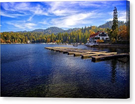 Lake Arrowhead California Canvas Print