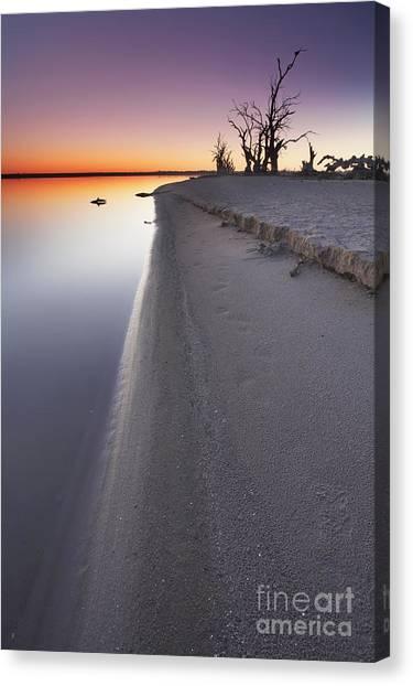 Drown Canvas Print - Lake Bonney Sunrise Barmera Riverland South Australia by Bill  Robinson