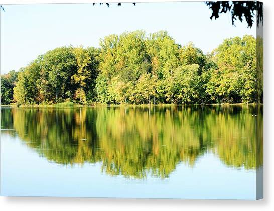 Lake Briddle Canvas Print