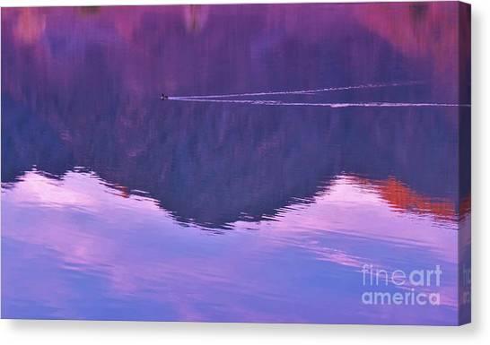 Lake Cahuilla Reflection Canvas Print