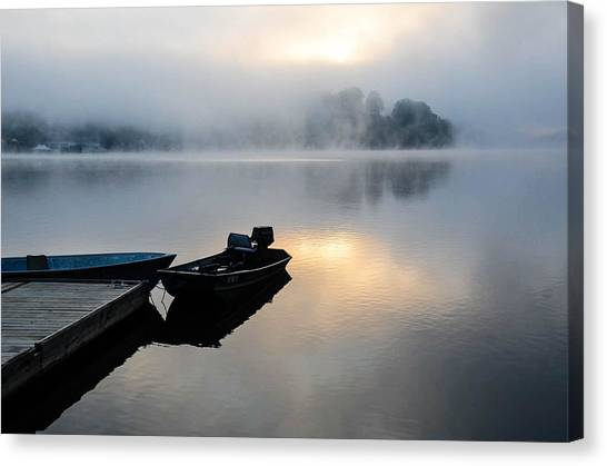 Lake Calm Canvas Print