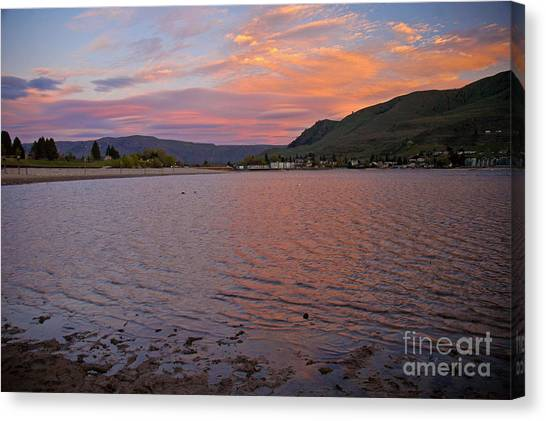 Lake Chelan Sunset Canvas Print