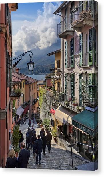 Lake Como Italy Canvas Print