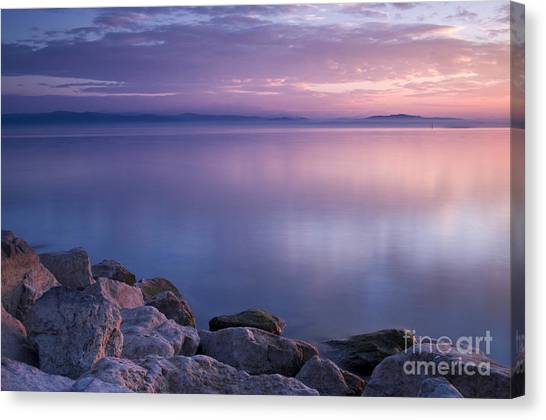 Lake Constance Canvas Print by Silke Magino