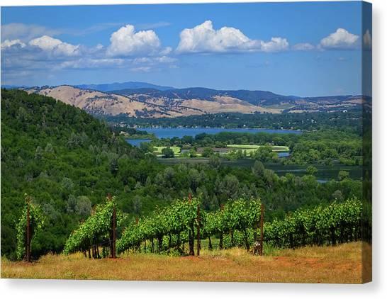 Canvas Print - Lake County by Skip Hunt